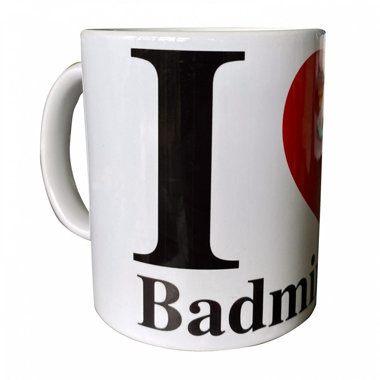 Tasse - I love Badminton